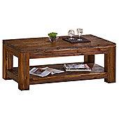 Martello Sandblasted Acacia Coffee Table