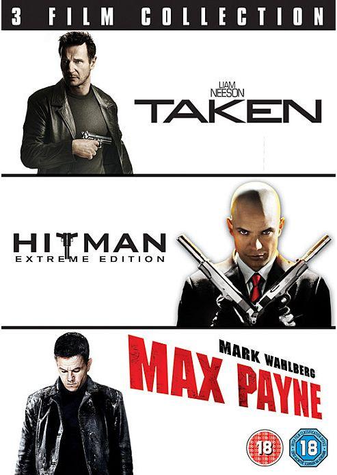 Taken/Hitman/Max Payne (DVD Boxset)