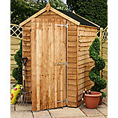 5x4 Windowless Budget Rustic Shed