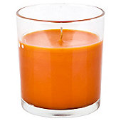 Tesco Filled Jar Candle Orange Nectarine