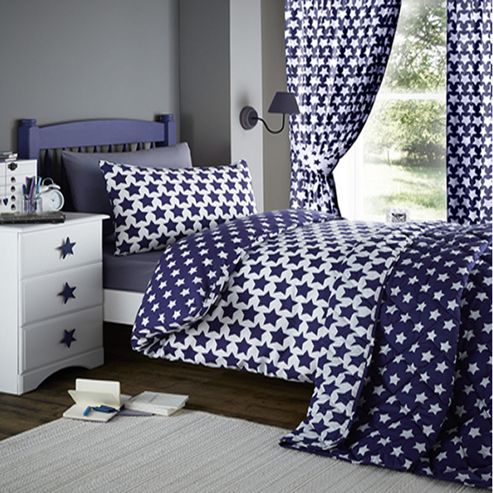 buy etoile blue star junior bedding from our duvet covers. Black Bedroom Furniture Sets. Home Design Ideas