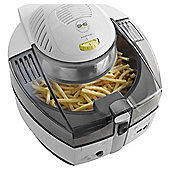 Delonghi FH1130 Young Multifry Air Fryer with 1.5kg Load Capacity in WhiteGrey