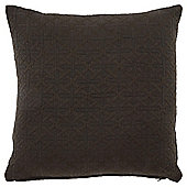 Grey Jacquard Cushion