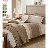 Catherine Lansfield Home Universal Double Duvet Cover Set - Natural