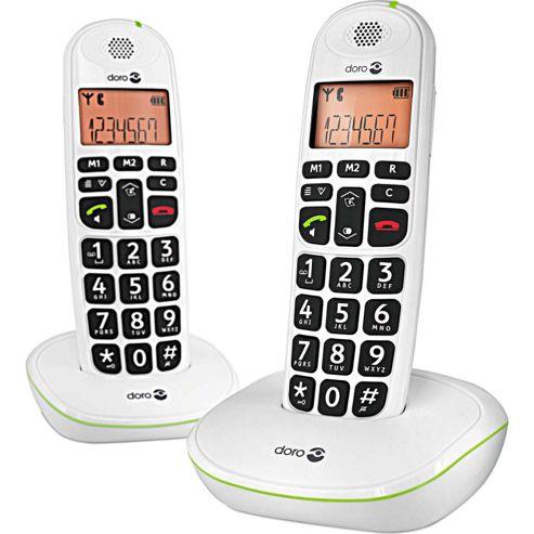 Doro Phoneeasy 100w DECT Phone - Duo