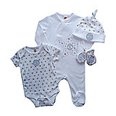 Manchester United Little Star 4 PC Baby Gift Set