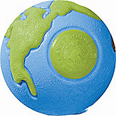 Planet Dog Orbee-Tuff Orbee Ball Dog Toy in Blue / Green - Large (10.8cm W) - Blue / Green
