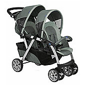 Chicco Together Twin Graphite Stroller