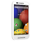Tesco Mobile Motorola Moto E™ White