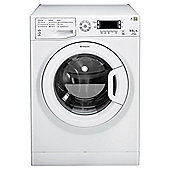 Hotpoint WDUD9640P Washer Dryer, 9kg Load, 1400 RPM Spin, A Energy Rating, White