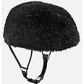 YAKKAY Luzern Black Helmet Cover: Large (57-59cm).