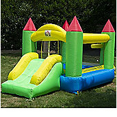 Homcom Bounce House Inflatable Kids Jumper Bouncy Castle