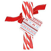 Scandi Set of 3 Candy Canes