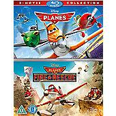 Planes / Planes 2 Blu-ray Boxset