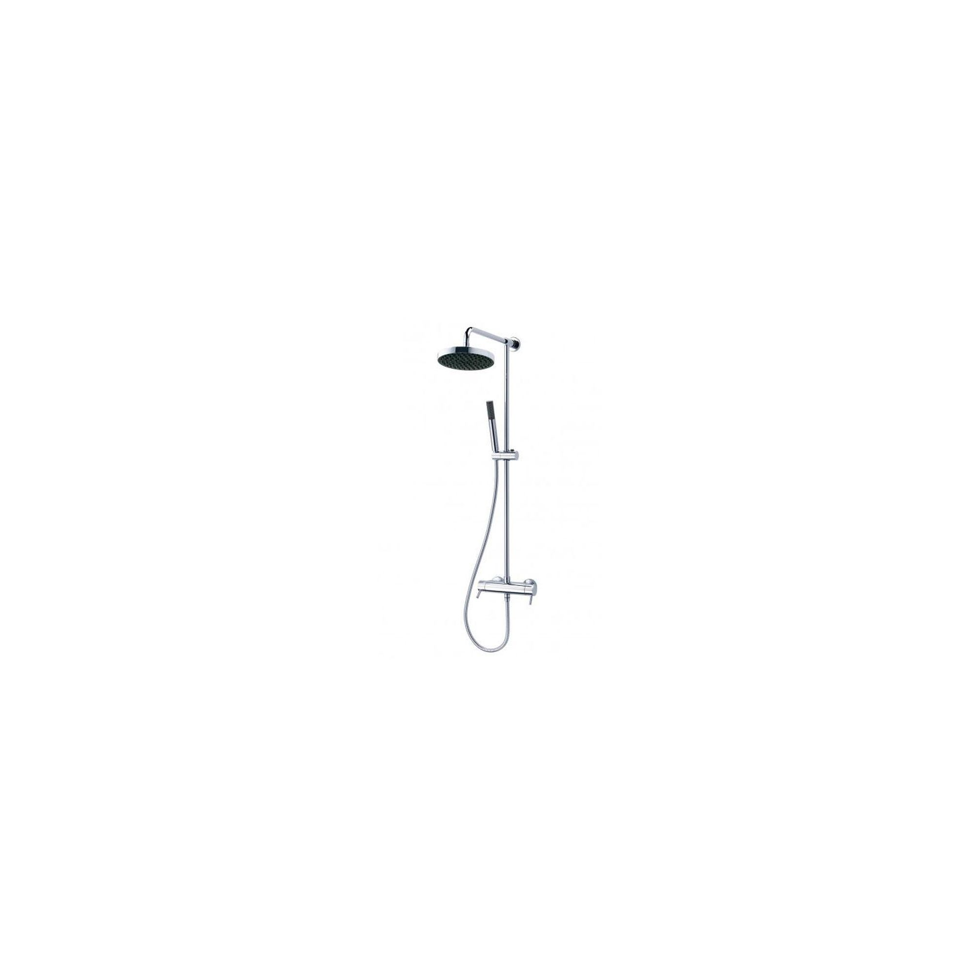 Triton Thames Thermostatic Bar Mixer Shower with Diverter Chrome at Tesco Direct
