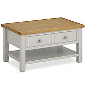 Cotswold Painted Coffee Table - Matt Stone Grey