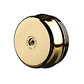 Byron 1200 Wired Underdome Bell Brass