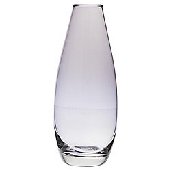 Tesco Curved Bud Vase, Purple
