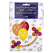 Happy Birthday Balloon Decoration Kit