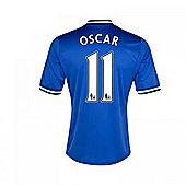 2013-14 Chelsea Home Shirt (Oscar 11) - Blue