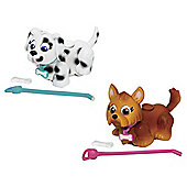 Pet Parade Twin Puppy Pack - Dalmatian And Yorkshire Terrier