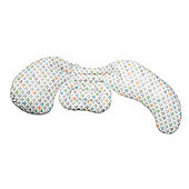 Boppy Mom Comfort Total Body Pillow (Silverleaf)