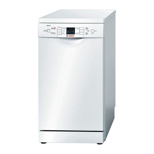 Bosch SPS53E12GB Slimline Dishwasher, A+ Energy Rating, White
