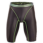 Nike Swift Mens Professional Speed Swimming / Triathlon Fastskin Jammers - Grey