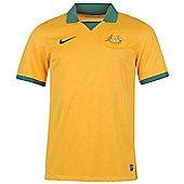 2014-15 Australia Home World Cup Football Shirt - Yellow