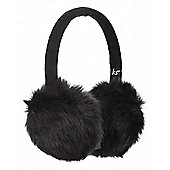 Audio Earmuff All Over Fur Ink Chunky