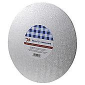 "Tala 12"" Round Silver Cake Board"