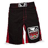 Bad Boy World Class Pro Shorts Black/Red - X Large