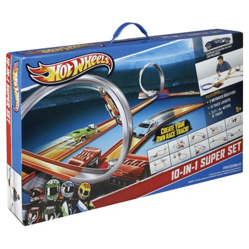 Hot Wheels Super Trackset Bundle