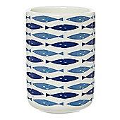 Linea Fish Ceramic Tumbler )