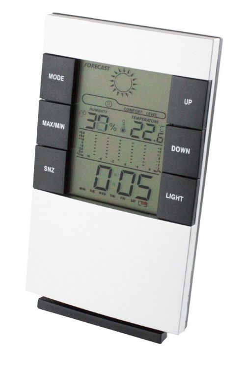 Homemate Deluxe Weather Station Clock
