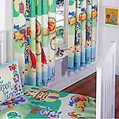 Knights and Dragons, Kids Curtains 72s - Multi