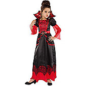 Vampire Queen - Child Costume 5-8 years