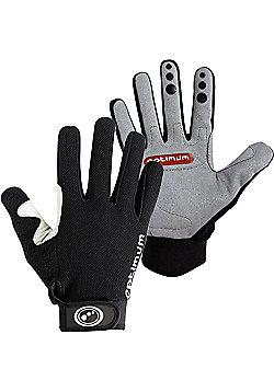 Optimum Hawkley Cycle Gloves - Black