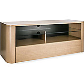 Alphason Hugo 1260 TV Stand for TVs up to 60 inch - Light Oak