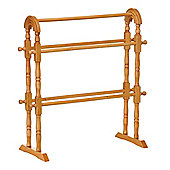 Premier Housewares 72cm Towel Rail - Oak