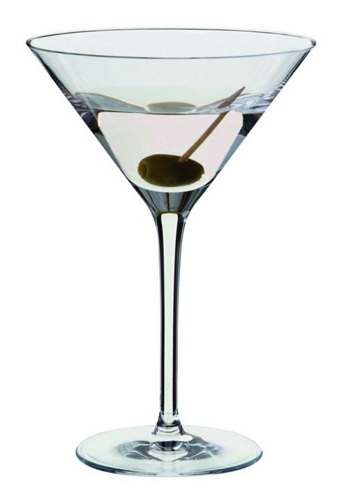 Dartington Crystal - Wine & Bar Essentials Cocktail Martini Glass Pair