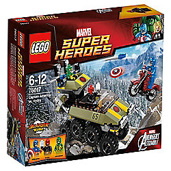 LEGO Marvel Super Heroes Avengers: Captain America vs. Hydra 76017