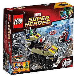 LEGO Marvel Super Heroes Avengers: Captain America vs. Hydra 76017