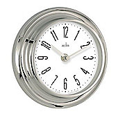 Acctim 21737 Riva Wall Clock Silver