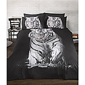 Rapport Urban Unique Tiger Photography Quilt Set King