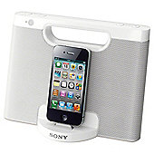 Sony RDPM7IPW IPod Speaker Dock White