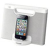 Sony RDPM7IPW IPod Speaker Dock White