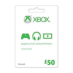 Xbox Gift Card FPP English UK 50 GBP