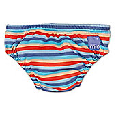 Bambino Mio Swim Nappy - Medium Orange Stripe 7-9kg