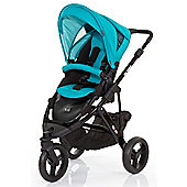 ABC Design Cobra Pushchair - Black & Coral